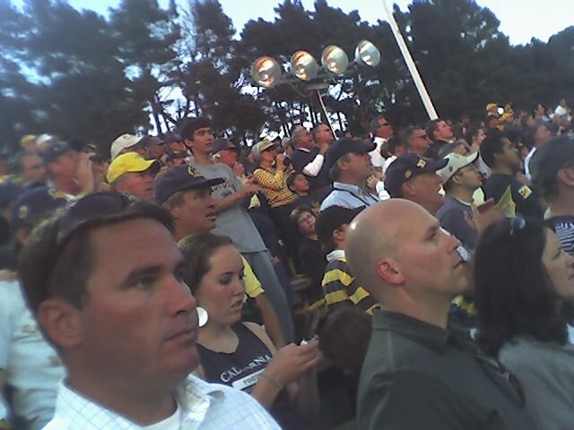 Pete at Oregon Game