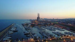 Marina Badalona looking South towards Barcelona