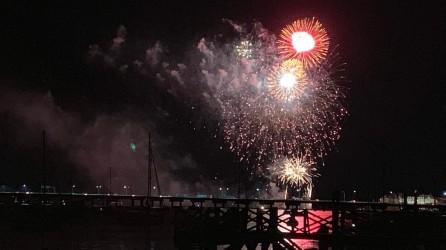 Naval War College Fireworks
